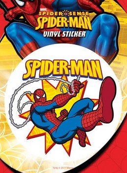 Autocolantes SPIDER-MAN – swinging