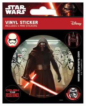 Autocolantes  Star Wars Episode VII: The Force Awakens - Kylo Ren