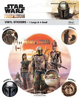 Autocolante Star Wars: The Mandalorian - Legacy