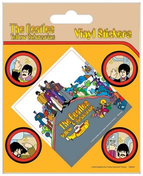 Autocolantes  The Beatles - Yellow Submarine