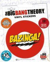 Autocolantes  The Big Bang Theory - Bazinga