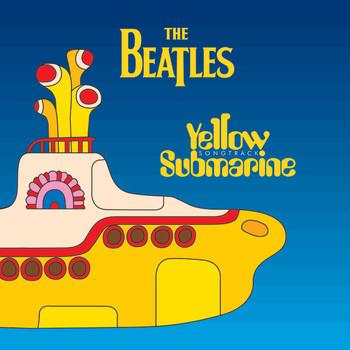 BEATLES - submarine Autocollant
