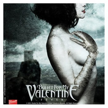 BULLET FOR MY VALENTINE - fever  Autocollant