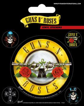 Guns N' Roses - Bullet Logo Autocollant