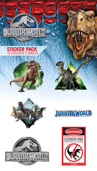 Jurassic World - Mix Autocollant