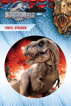Jurassic World - T-Rex Autocollant