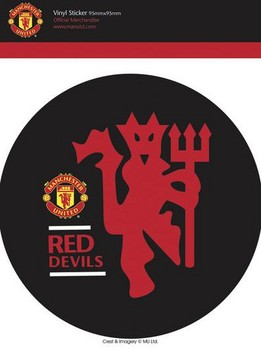 MAN UNITED - red devils Autocollant