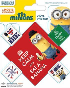 Minions (Moi, moche et méchant) - Keep Calm Autocollant