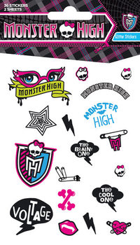 MONSTER HIGH - girls Autocollant