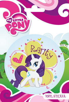 MY LITTLE PONY - rarity  Autocollant