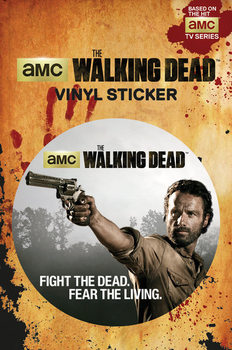 The Walking Dead - Rick Autocollant