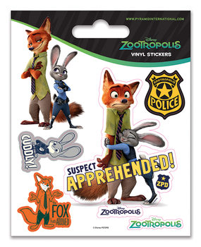 Zootopie - Suspect Apprehended Autocollant