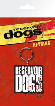 Reservoir Dogs - Logo Square Avaimenperä