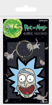 Rick and Morty - Rick Crazy Smile Avaimenperä