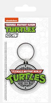 Teini-ikäiset mutanttininjakilpikonnat - Logo Avaimenperä