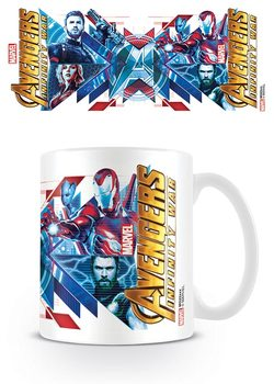 Caneca Avengers Infinity War - Red Blue Assemble