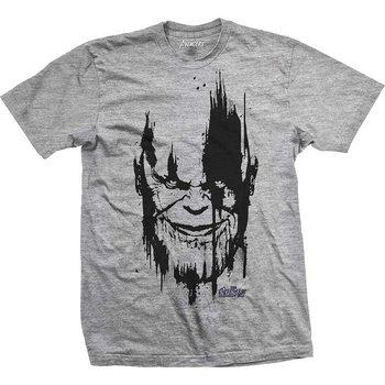 T-paita Avengers - Infinity War Thanos Head Black