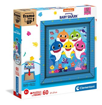 Puzzle Baby Shark - Frame Me Up