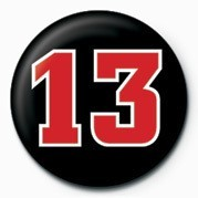 13 NUMBER Badges