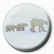 3 POLAR BEARS Badge