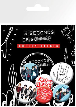 5 Seconds of Summer - Good Girls Badge Pack