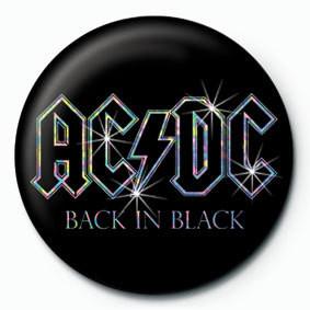 AC/DC - Back in black Badge