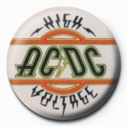 AC/DC - HIGH VOLTAGE Badge