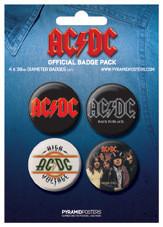 AC/DC Badge Pack