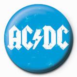 AC/DC -Blue logo Badge