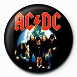 AC/DC - planet Badge