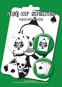 ACE OF SPADES Badge Pack