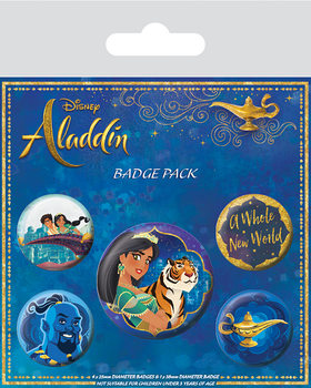 Aladdin - A Whole New World Badge Pack
