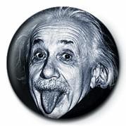 ALBERT EINSTEIN - tongue Badge