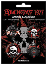 Badges ALCHEMY - La mort