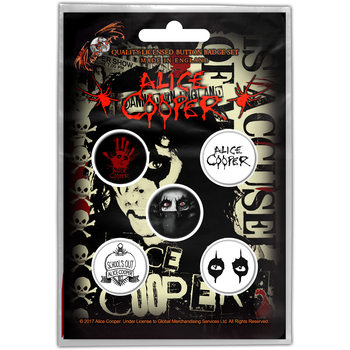 ALICE COOPER- EYES Badge Pack