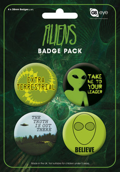 Badges ALIENS