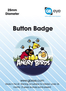 ANGRY BIRDS Badges