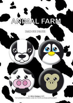ANIMAL FARM Badge Pack