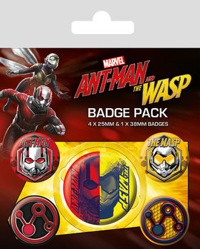 Badge set Ant-Man and The Wasp
