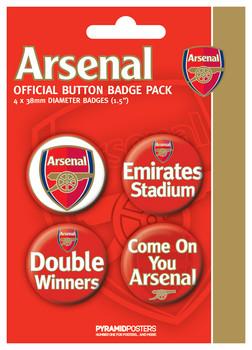 ARSENAL FC - d. winner Badge Pack