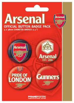 ARSENAL FC - pride Badge Pack