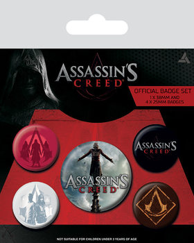 Assassin's Creed Movie Badge Pack