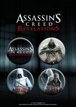 Assassin's Creed Relevations – duo Badge Pack