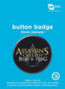Assassins Creed 4: Black Flag - crest Badge