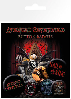 Badges AVENGED SEVENFOLD – hail to the king