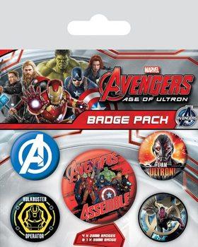 Avengers 2: L'Ère d'Ultron Badges