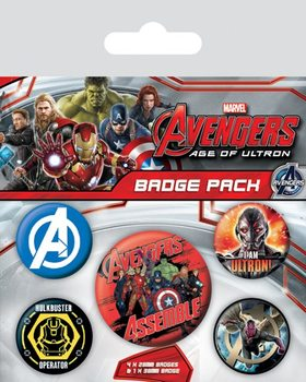 Avengers: Age Of Ultron Badge Pack