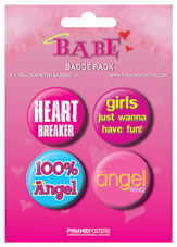 BABE Badge Pack