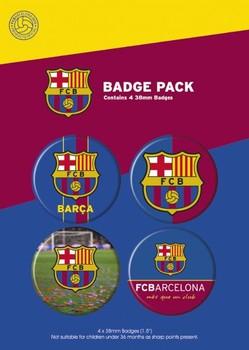 BARCELONA - crest Badge Pack