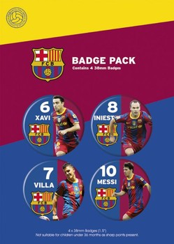 BARCELONA - players Badge Pack